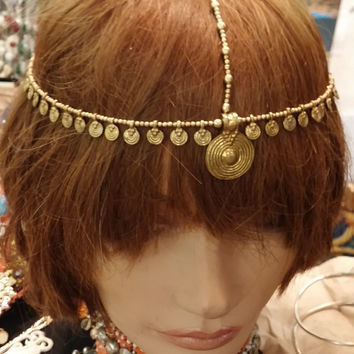Headpiece and Hair Swags Single Headpiece