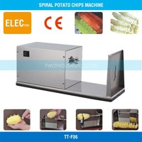 Spiral Potato Machine, Potato Cutter, CE, Electric, Full S/S, 10 W, TT-F35