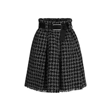 Products by Louis Vuitton: BLEND TWEED BELTED SKIRT