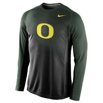 Oregon Ducks Basketball Dri Fit Shooting Shirt by Nike NWT OU PAC 12 Hoops NCAA