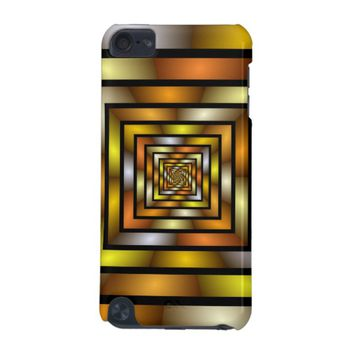 Luminous Tunnel Colorful Graphic Fractal Pattern iPod Touch 5G Cover