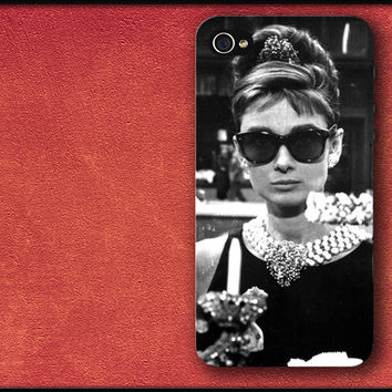 Breakfast at Tiffany's, Audrey Hepburn 2 Phone Case iPhone Cover