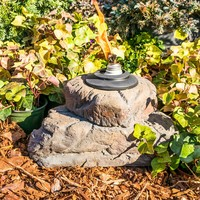 Sandstone Outdoor Torch or Planter