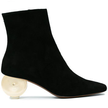 Neous Black Moon 55 Suede Ankle Boots - Farfetch