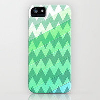 Zig-Zag Cool iPhone Case by Ally Coxon | Society6