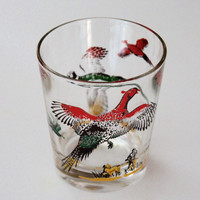 Harvest Vintage Whiskey Glass
