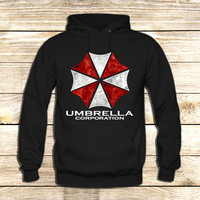Resident Evil Umbrella Corporation on Hoodie Jacket