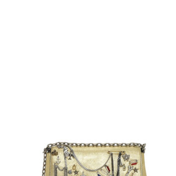 Charms and Trinkets Leather Shoulder Bag - Marc Jacobs