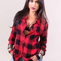 Elan The Perfect Flannel Shirt