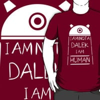 I am not a Dalek. I am Human. by iliketrees