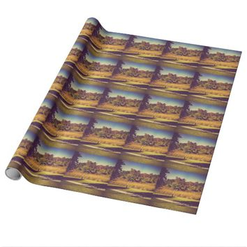 Cool Nature Wrapping Paper