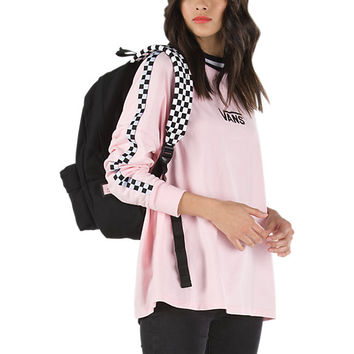 Vans x Lazy Oaf LS Checkerboard Tee | Shop Womens Tees At Vans