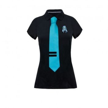 Hatsune Miku Polo with Tie