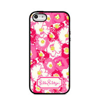 New Lilly Pulitzer Cherry Begonias Print On Hard Case For iPhone 6s 6s plus