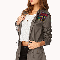 Worldly Girl Utility Jacket