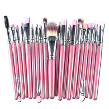 20 Pcs 16 Color Professional Soft Cosmetics Beauty