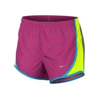 The Nike Tempo Graphics Girls' Running Shorts.