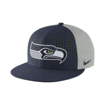 Nike Laser Pulse True (NFL Seahawks) Adjustable Hat (Blue)