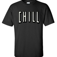 CHILL Funny Relaxed 420 Couch Potato Men's T-Shirt