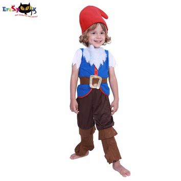 Eraspooky halloween costumes for kids Baby cute Girl kids costume halloweens mushroom elf costumes Boy Child Christmas Cosplay