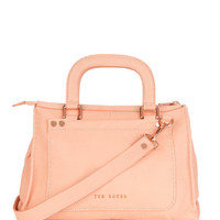 Stab stitch bag - Orange | Bags | Ted Baker ROW