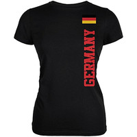 World Cup Germany Black Juniors Soft T-Shirt