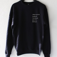 Cities Sweater