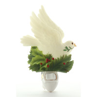 Peace Dove Night Light, Ibis & Orchid Nightlights, NIB, 50014