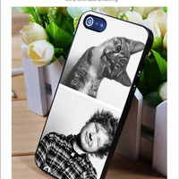 Ed Sheeran and Kitty iPhone for 4 5 5c 6 Plus Case, Samsung Galaxy for S3 S4 S5 Note 3 4 Case, iPod for 4 5 Case, HtC One for M7 M8 and Nexus Case