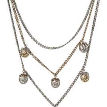 Multiple Strand Pendant Necklace - Alexander McQueen | WOMEN | US STYLEBOP.COM