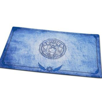 Godness Phoebe Playmat For Board Game Magical The Gathering Yu Gi Oh Table Game Large Mouse Pad  Table Play Mat For Games Blue