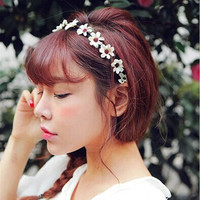 Sweet flowers hair bands