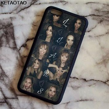 KETAOTAO Pretty Little Liars TV Phone Cases for iPhone 4S 5C 5S 6S 7 8 Plus XR XS Max for XS8 6 Case Soft TPU Rubber Silicone
