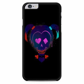 Harley Quinn Suicide Squad On Black iPhone 6 Plus / 6S Plus Case