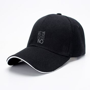 Let Me Put This In Spanish For You No, Funny Baseball Cap