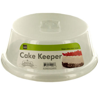 Cake Storage Container with Handle: Case of 12