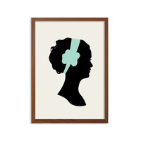 BLAIR WALDORF Poster : Modern Illustration Gossip Girl TV Series Retro Art Wall Decor