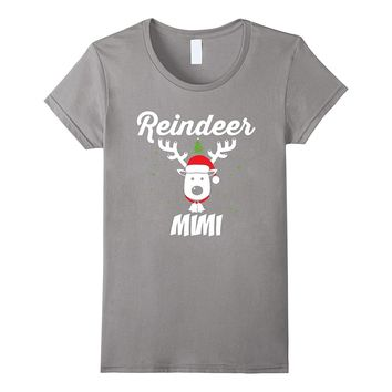 Reindeer Mimi Christmas Matching Family T-Shirt