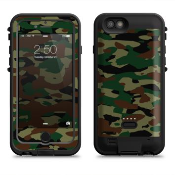 The Traditional Camouflage  iPhone 6/6s Plus LifeProof Fre POWER Case Skin Kit