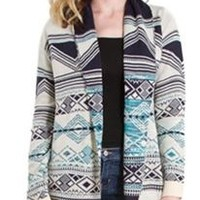 Fantastic Fawn Aztec Sweater Cardigan for Women KT1237
