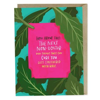 Smothered with Kale Empathy Card | Emily McDowell Studio