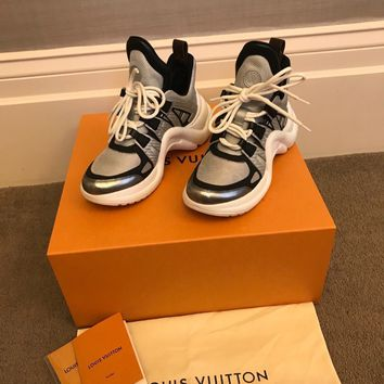louis vuitton sneakers 36.5 LV ARCHLIGHT TRAINER sneaker trainer