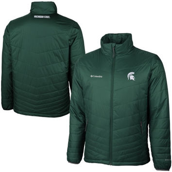 Michigan State Spartans Columbia Collegiate Mighty Lite Jacket – Green