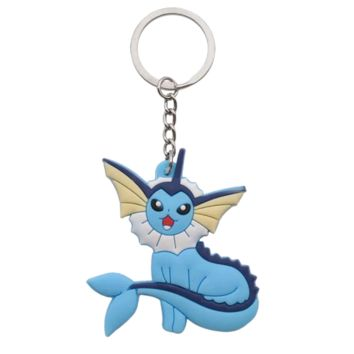 Brand New Video Game Pokemon Vaporeon Keychain