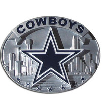 Dallas Cowboys NFL Enameled Belt Buckle