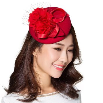 Winn Felt Wool Fascinator
