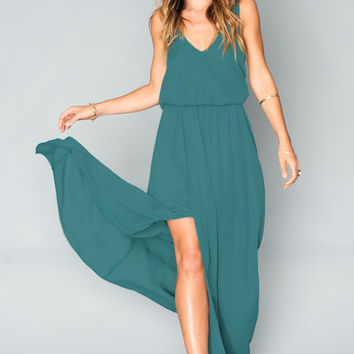 Show Me Your mumu Kendall Maxi Dress ~ Hutch Green