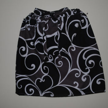 PDF Girls Sewing pattern reversible Skirt Size 3to8