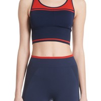 Tory Sport Two-Tone Seamless Camisole Long Bra | Nordstrom