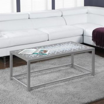 Shop Monarch Specialties Grey/Blue Ceramic Coffee Table at Lowes.com